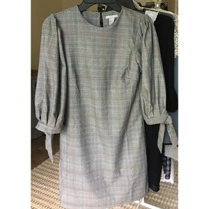 H&M Plaid Shift Dress